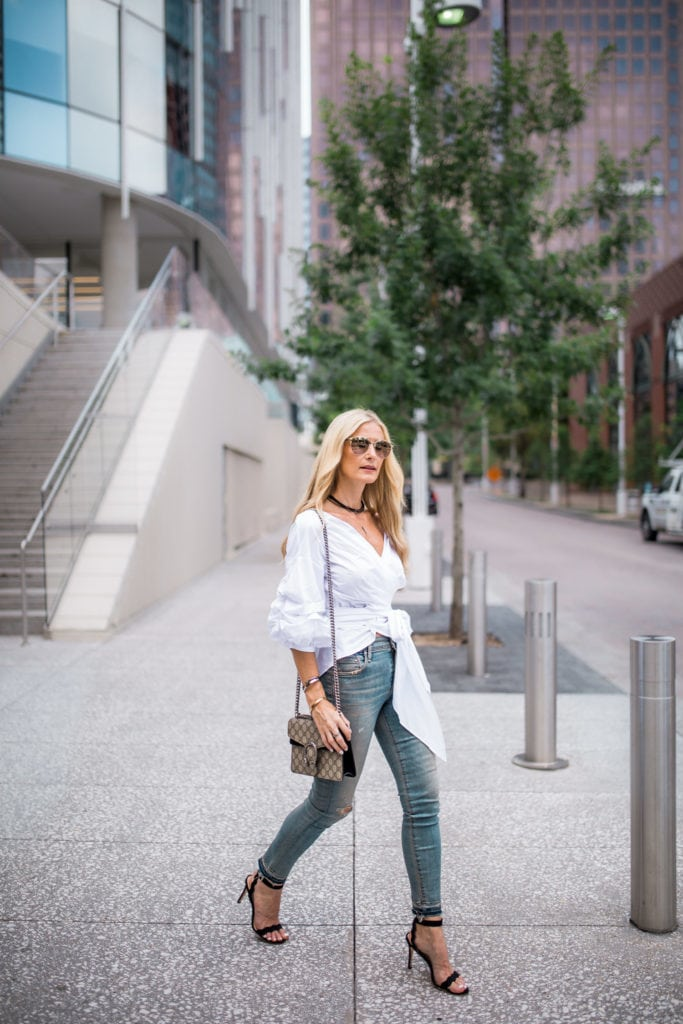 Dallas Fashion Blogger, Heather Anderson, Gucci Handbag