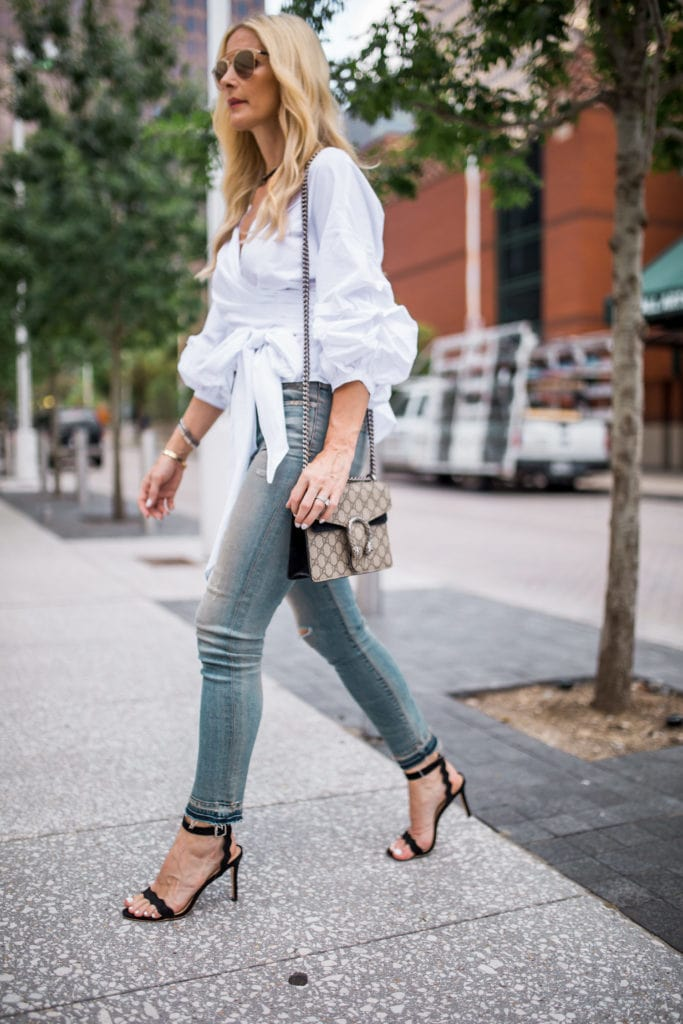 Dallas Fashion Blogger, Heather Anderson, Cropped Denim
