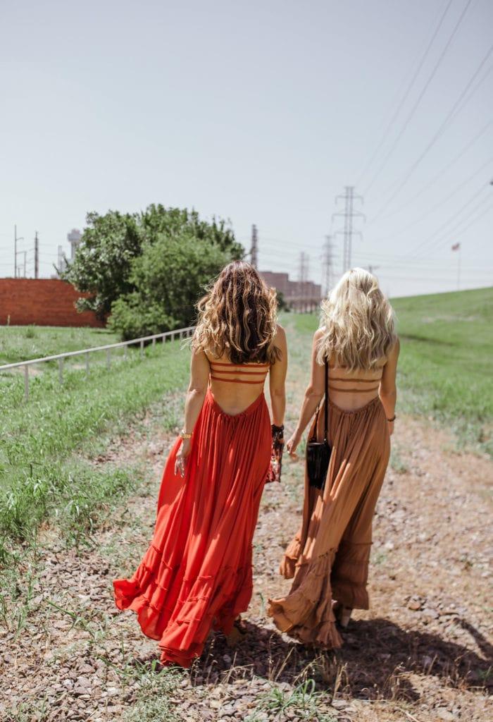 Free People Maxi Dress, Heather Anderson, Dallas Fashion Blogger