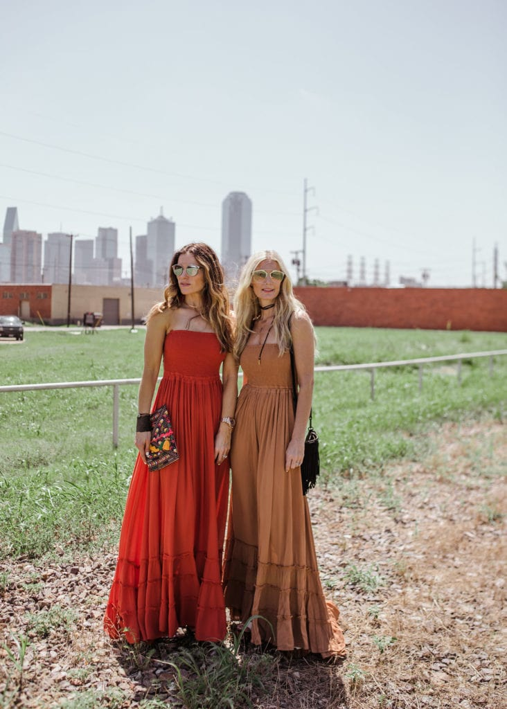 Free People Maxi Dress, Heather Anderson, Dallas Fashion Blogger, The Street Edit