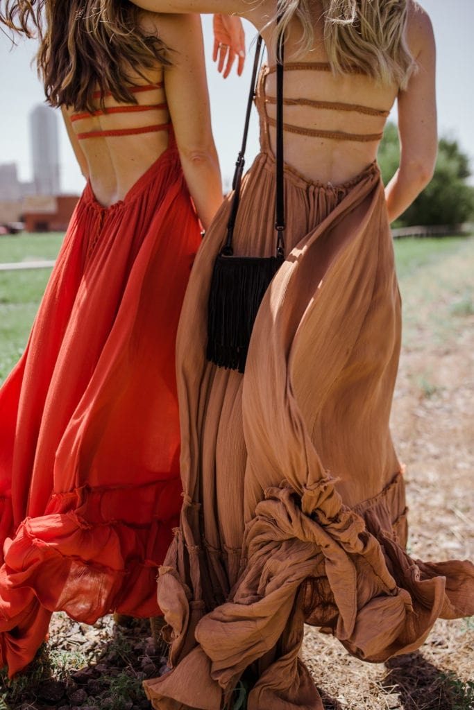 Maxi dress, Dallas Style Blogger, Free People Maxi Dress