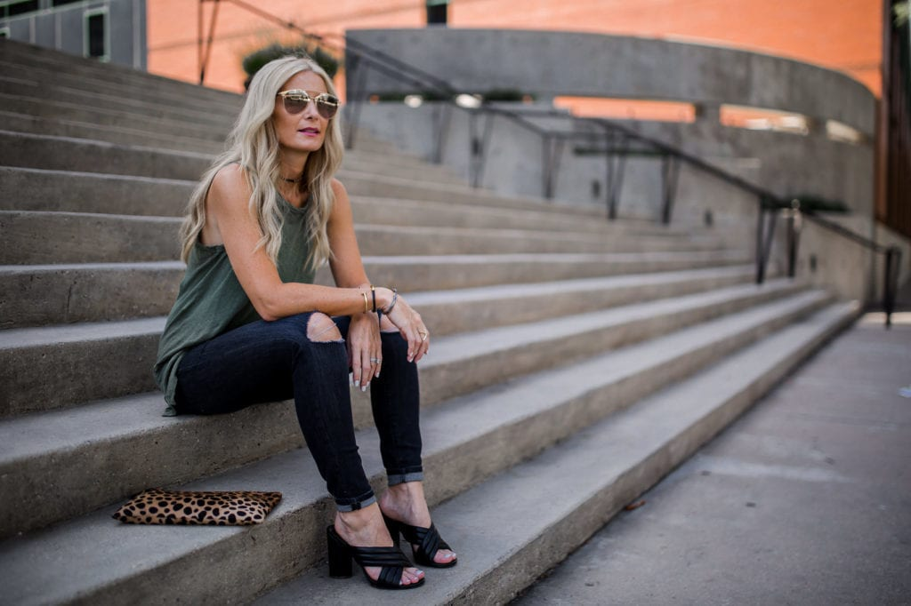 current elliott tee, Heather Anderson, Dallas Fashion Blogger