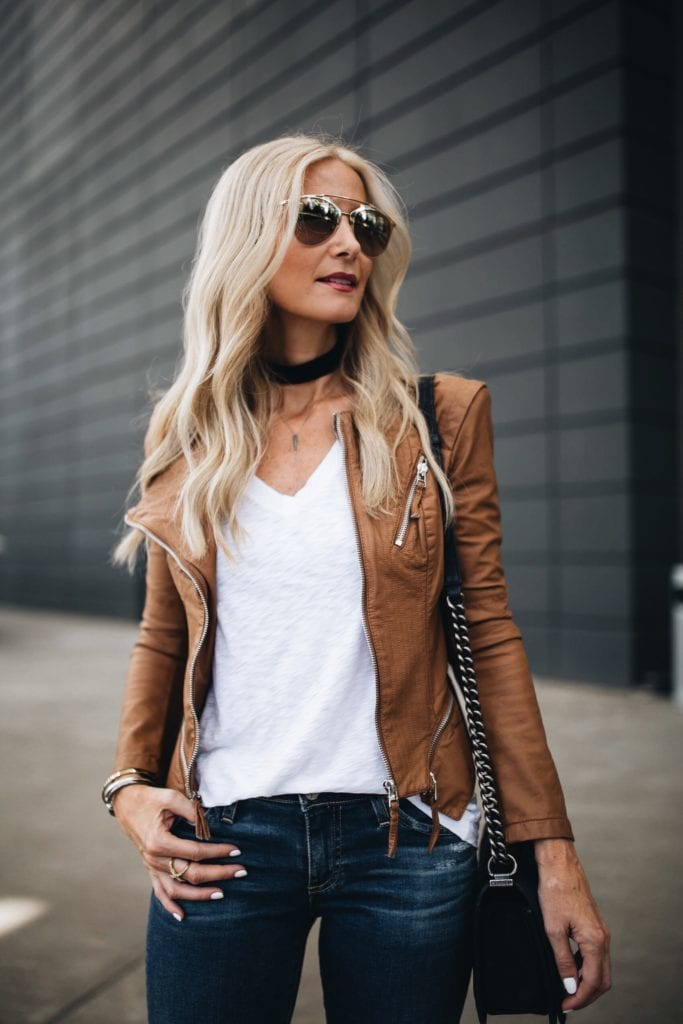 BLANKNYC Faux Leather Jacket, Heather Anderson, Dallas Fashion Blogger