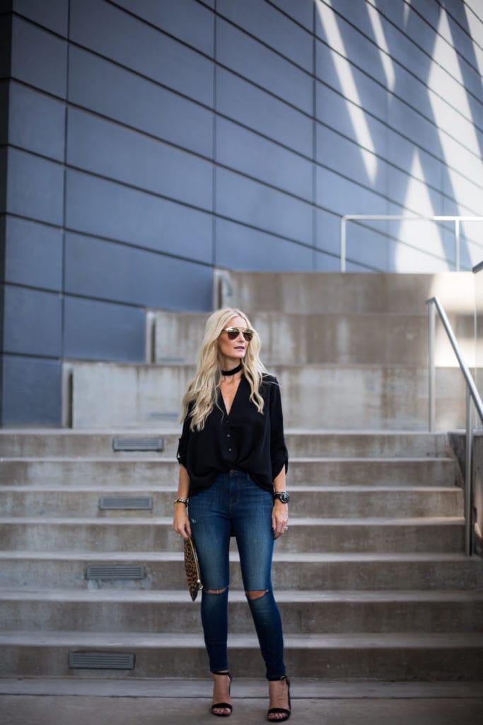 J Brand Alana Jeans, Heather Anderson, Dallas Style Blogger