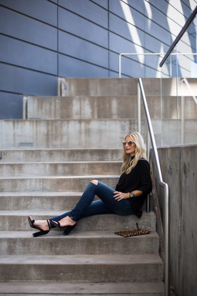 J Brand High Rise Jeans, High-Rise Ripped Jeans, Heather Anderson