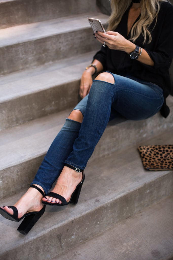 J Brand Jeans, Christian Paul Watches, Clare V Clutch