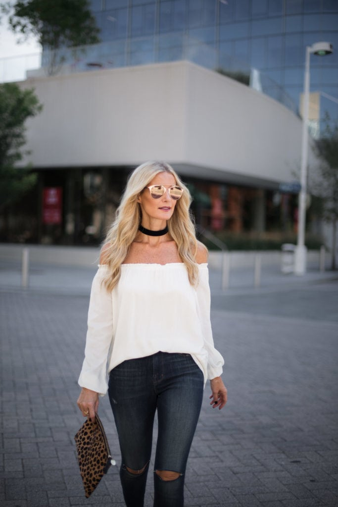 Sanctuary Top, Heather Anderson, Dallas Style Blogger, J Brand High Rise Jeans