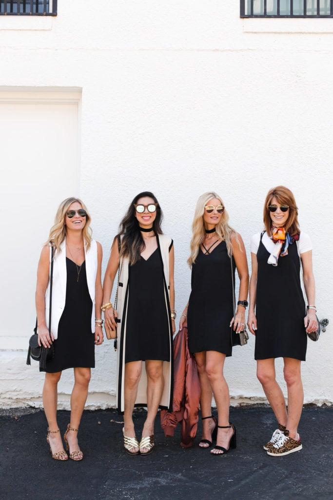 Topshop Black Dress, Chic at Every Age, Dallas Fashion Blogger