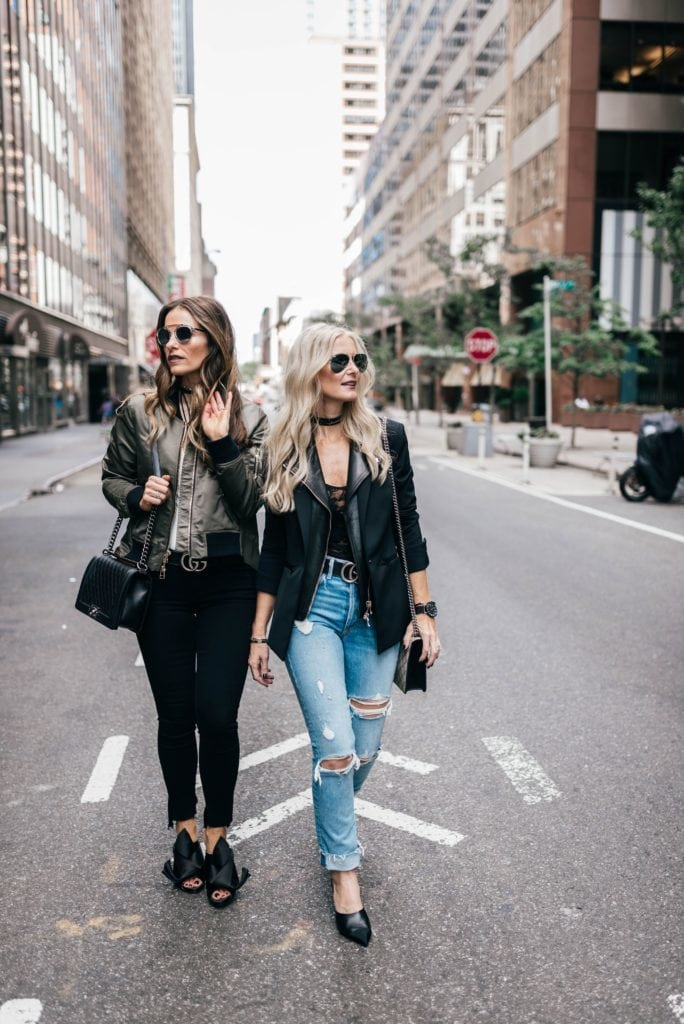 Veronica Beard Blazer, Grlfrnd Denim, Heather Anderson, Dallas Fashion Blogger