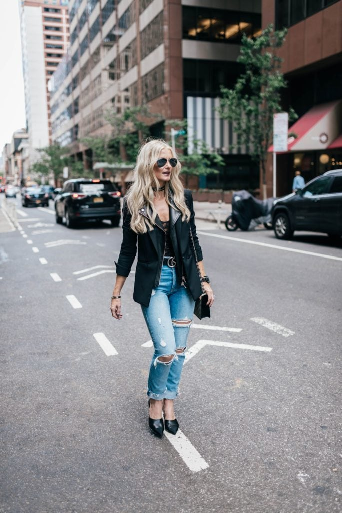 NYFW, Heather Anderson, Dallas Fashion Blogger, Grlfrnd Denim