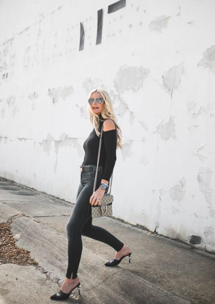 Rag and Bone Black Ripped Jeans