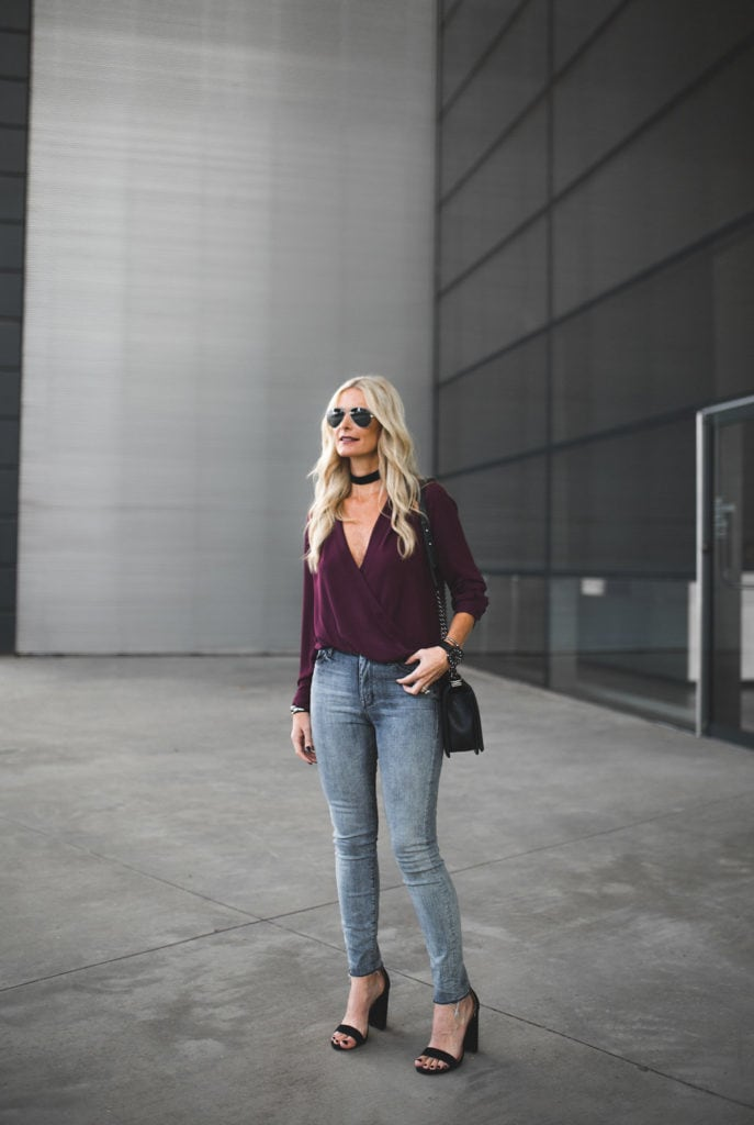 Mother Gray High-Rise Jeans