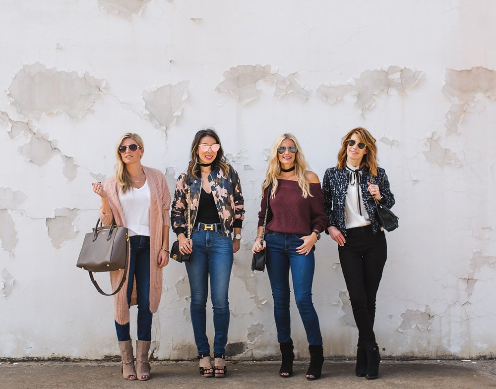 High-Rise Jeans styled 4 ways