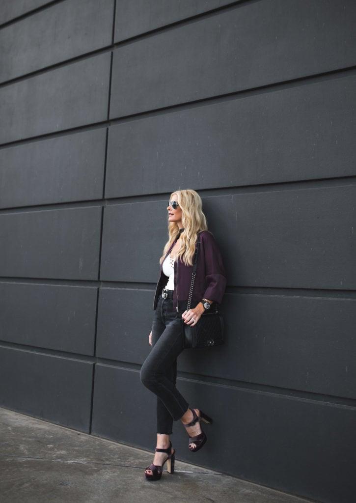 Topshop bomber jacket, Heather Anderson, Dallas Fashion Blogger