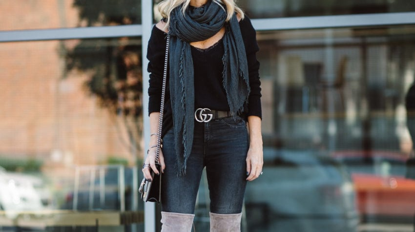 BOOTS AND SCARVES + GOLD MAC BOOK AIR GIVEAWAY