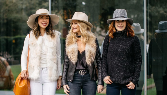 CHIC AT EVERY AGE FEATURING HATS