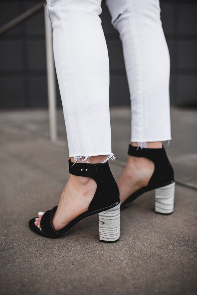White Ripped Jeans