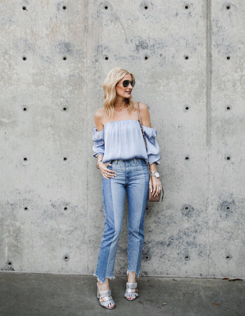 Bardot Off the shoulder top