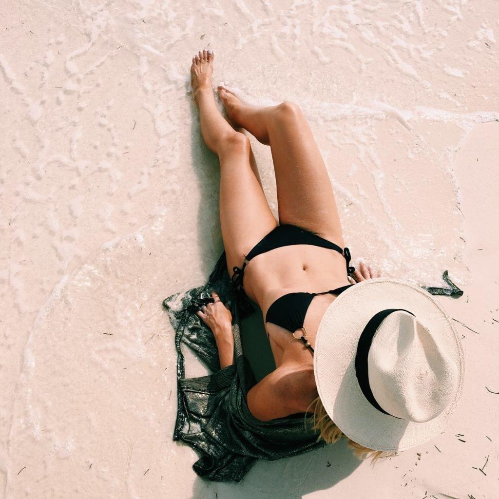 Black Triangle Bikini