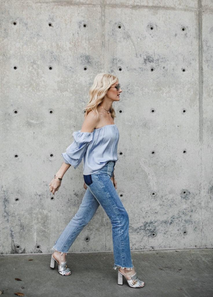 Ag High Rise Vintage Jeans