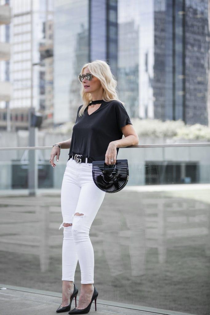 Black Ark Mini Handbag