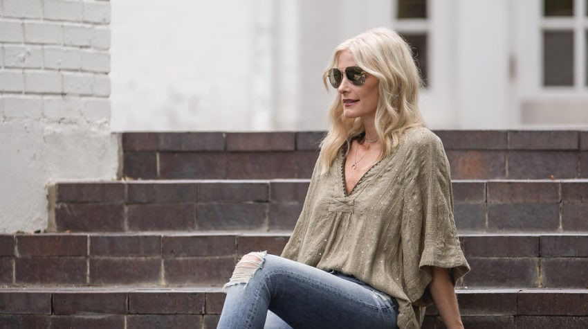 BOHO CHIC IN AN EASY BREEZY TUNIC + Quick Survey to Bring YOU Better Content