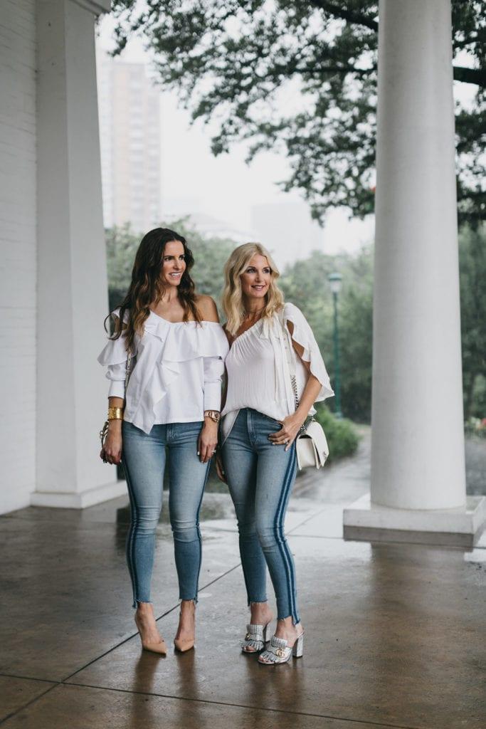 Mother Denim striped jeans