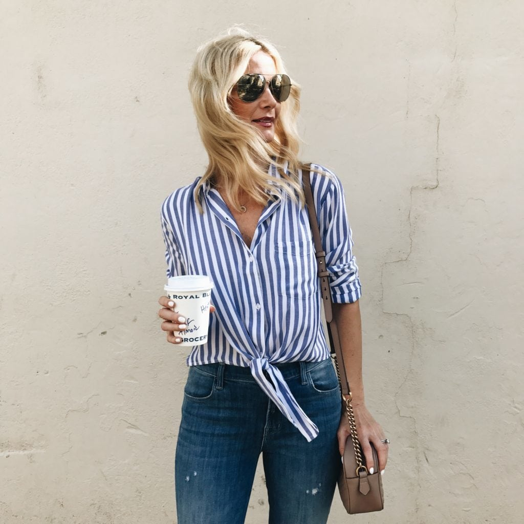 Rails Striped Shirt