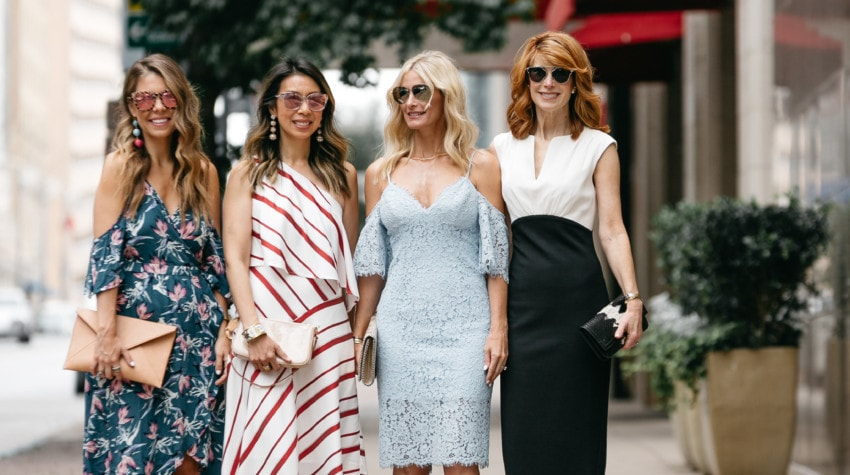 CHIC AT EVERY AGE – WHAT TO WEAR TO A WEDDING