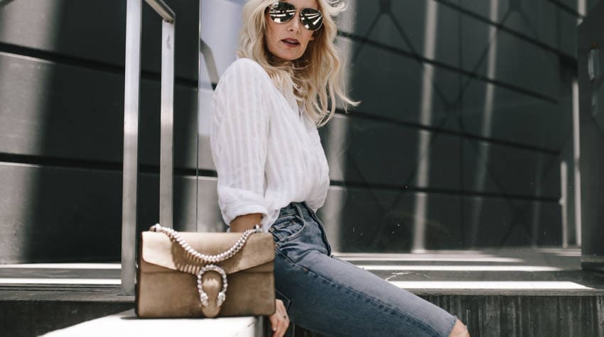 WHITE BUTTON DOWN STYLED 3 WAYS + NORDSTROM GIFT CARD GIVEAWAY