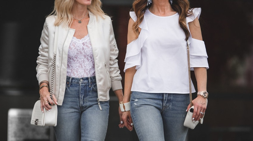 THE STREET EDIT FEATURING THE NEW COOL GIRL DENIM