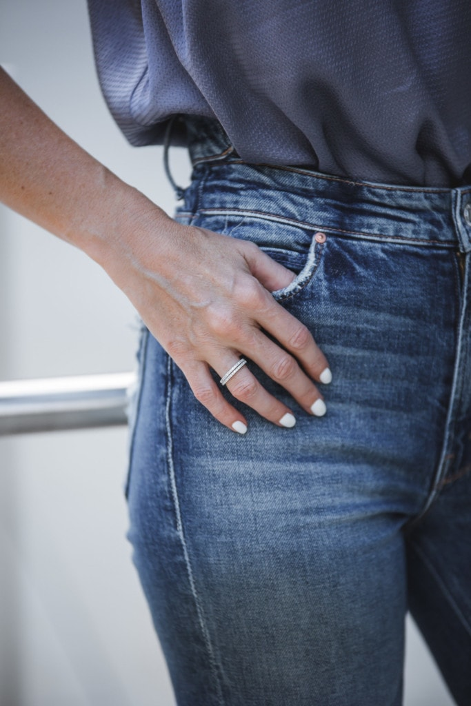 High Rise Jeans by Mother