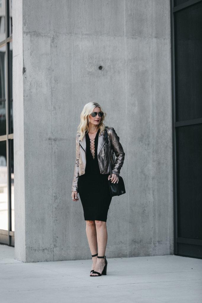 Blanknyc faux leather jacket