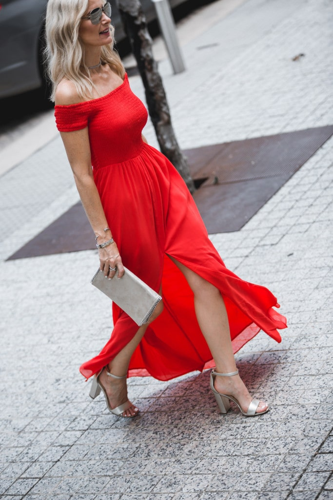 Tularosa Red Dress