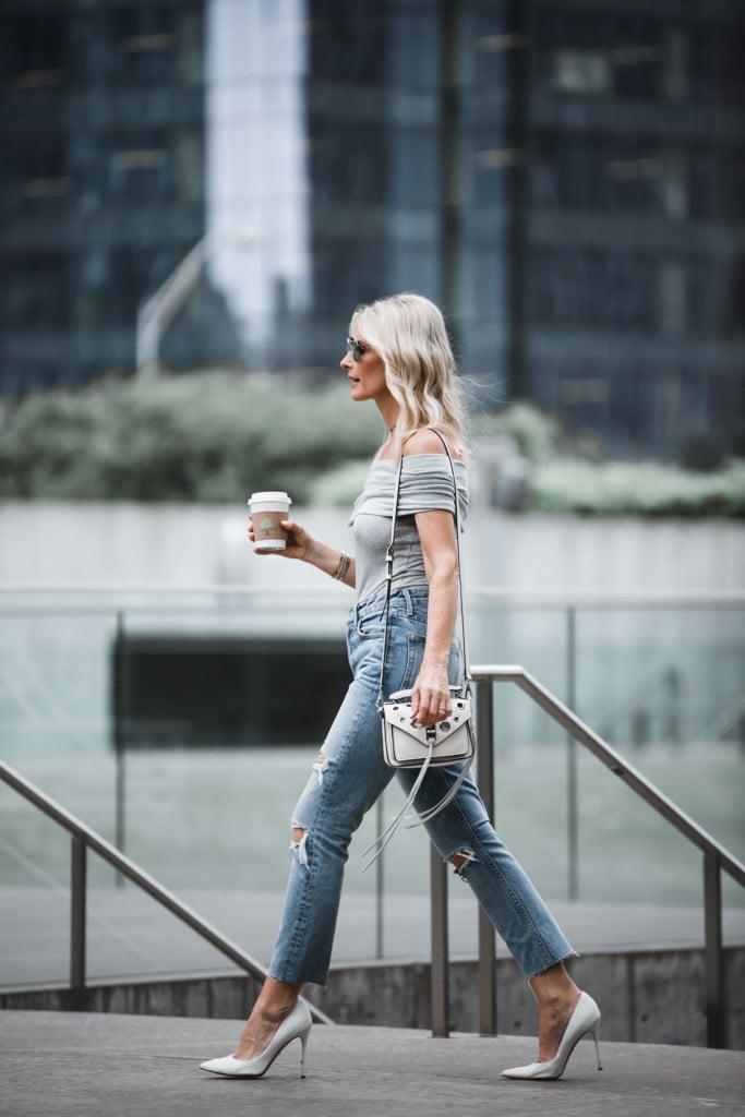 Grlfrnd Denim Ripped jeans