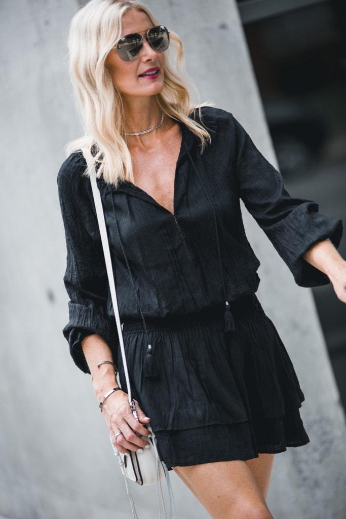 Paige Lemay Black Dress