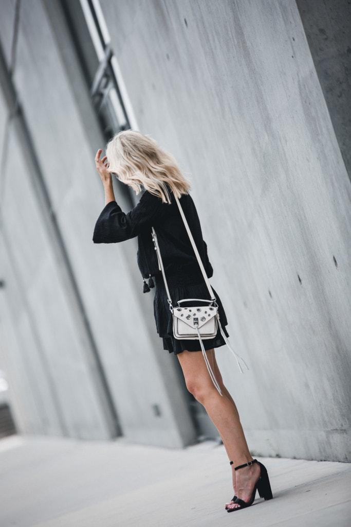 Rebecca Minkoff White Handbag