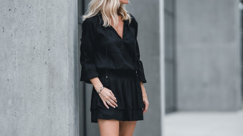 THE PERFECT LBD STYLED 2 WAYS WITH NORDSTROM