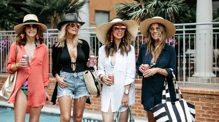 CHIC AT EVERY AGE FEATURING COVER-UPS + Gucci Handbag Giveaway