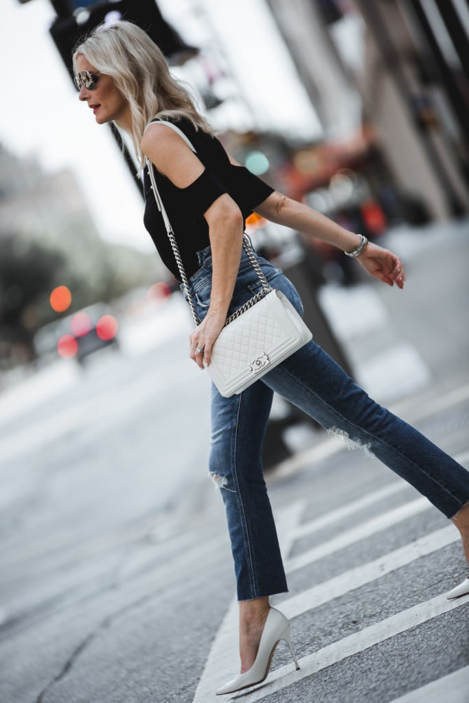 Mother Denim The Dazzler Shift Jeans