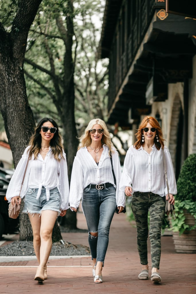 THE PERFECT WHITE BUTTON DOWN STYLED 3 WAYS + 2 WAYS YOU CAN HELP OUT THE HURRICANE HARVEY VICTIMS