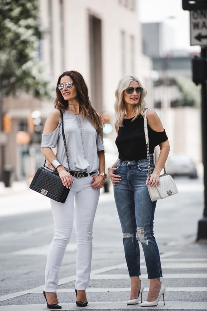 THE STREET EDIT FEATURING THE PERFECT COLD SHOULDER TEE ONLY $17 + THE BEST LABOR DAY SALES