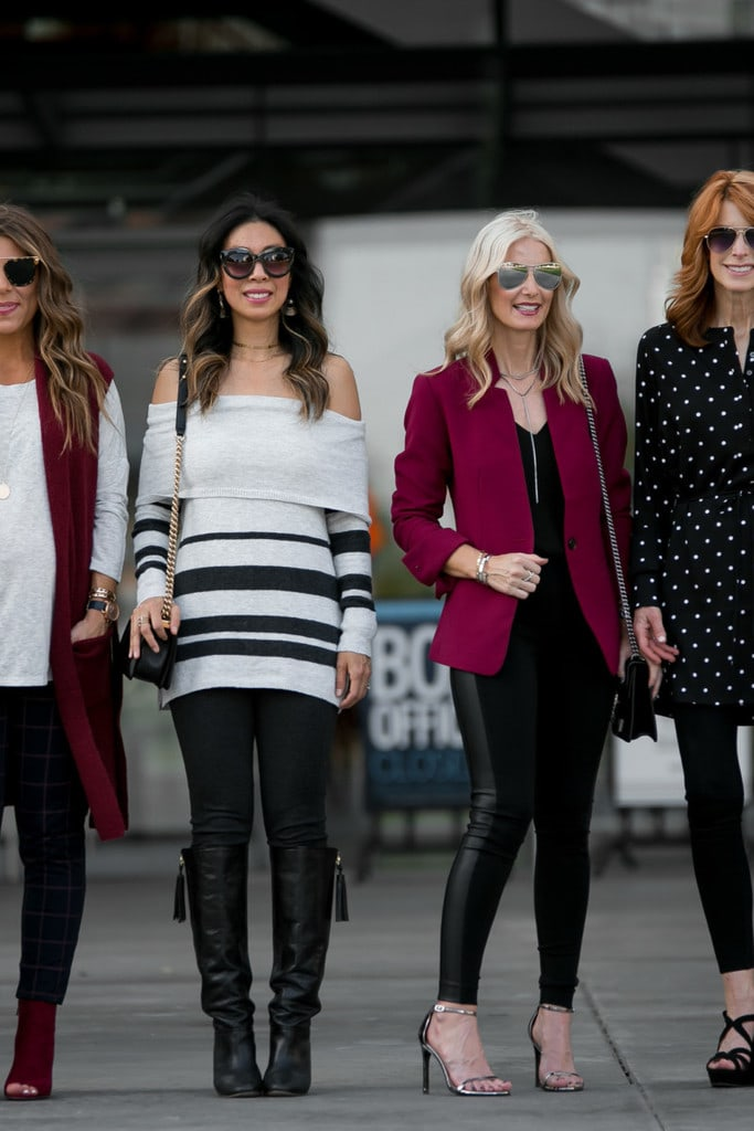 HOW TO WEAR LOFT LEGGINGS WITH CHIC AT EVERY AGE