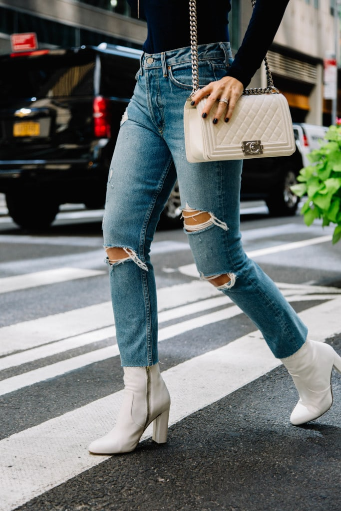 Grlfrnd Denim Ripped Jeans