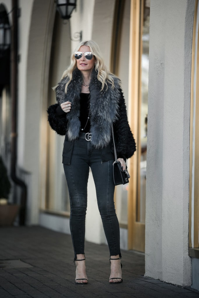 WINTER CHIC WITH ANNE FONTAINE