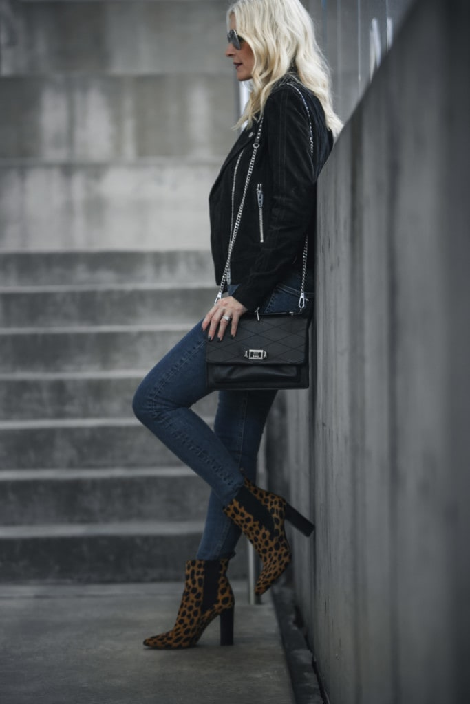 Vince Camuto Leopard Booties
