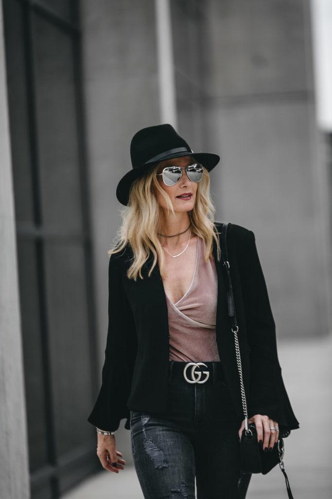 Black Rag and Bone Hat
