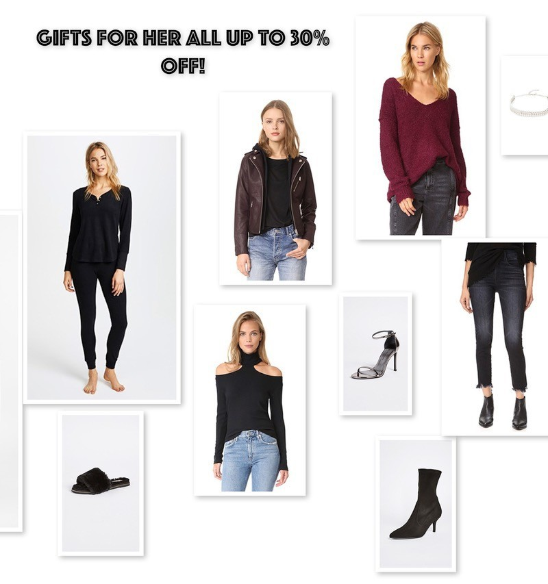 GIFTS FOR HER ALL UP TO 30% OFF