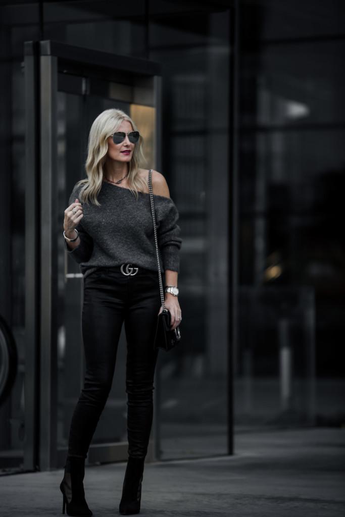 J Brand Black Leather Pants
