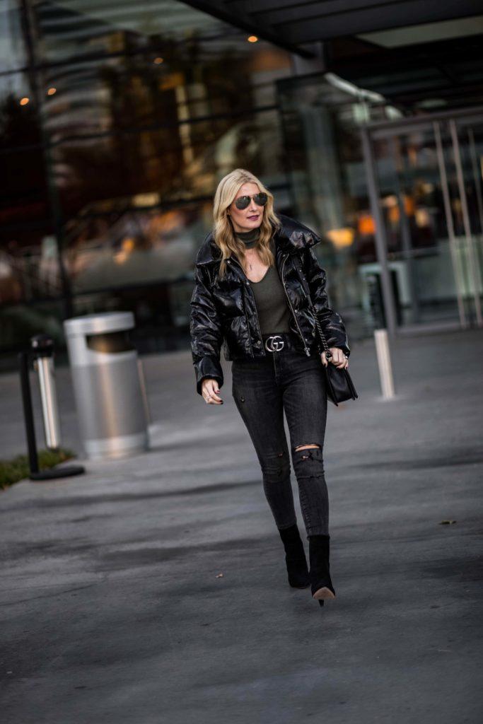 LPA Black Puffer Jacket